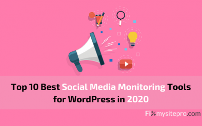 Top 10 Best Social Media Monitoring Tools for WordPress in 2020