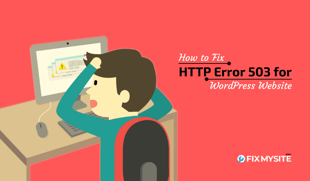 How to fix HTTP error 503 for WordPress website