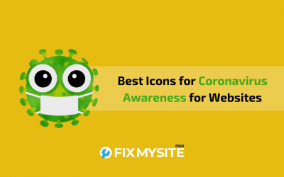 Best Icons for Coronavirus Awareness for Websites